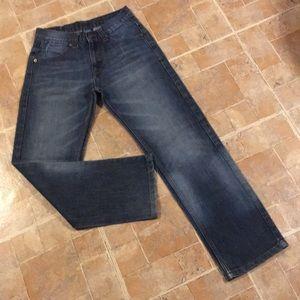 PD&C straight leg jeans size kids boys 12